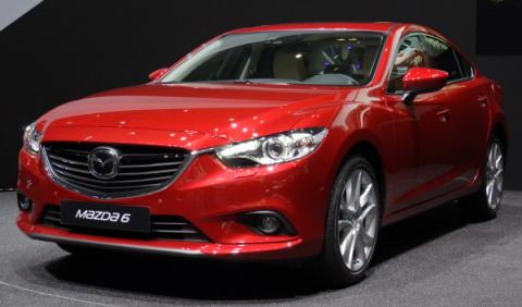 Mazda6 Salon de Ginebra 2013