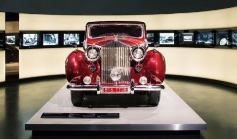 Rolls-Royce en el museo BMW 2