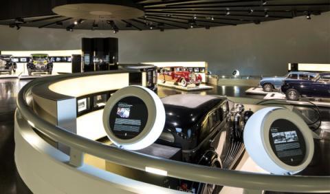 Rolls-Royce en el museo BMW 1