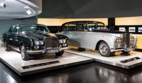 Rolls-Royce en el museo BMW 3