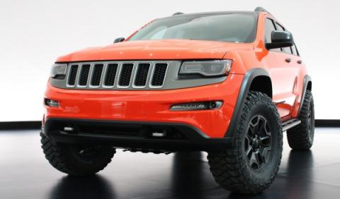 Jeep Grand Cherokee Trailhawk Cocept