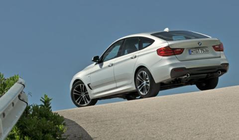 BMW serie 3 GT trasera