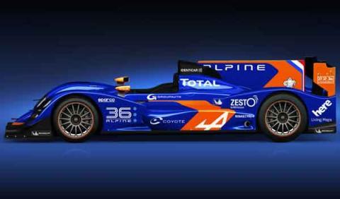 Alpine presenta su prototipo para las 24 Horas de Le Mans