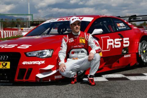 Miguel Molina Audi RS 5 DTM