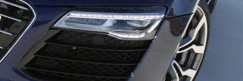 Faros led del Audi R8 V10