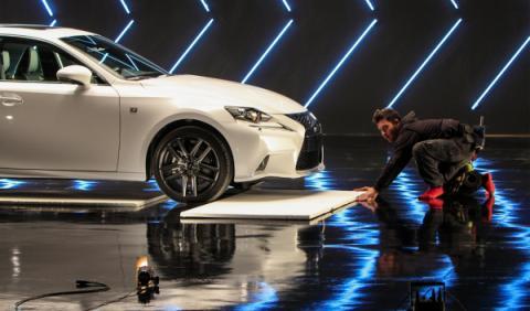 El director de Top Gear rueda el spot del Lexus IS 300h
