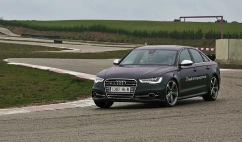 Turno de probar los Audi S. ¡Sorpresa!: ¡Hay que ir al límite!