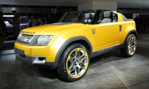 Land Rover Defender prototipo