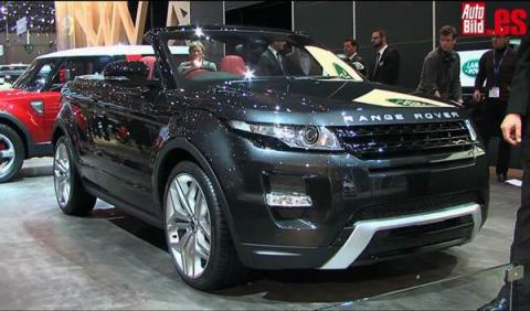 Rangue Rover Evoque Cabrio Concept