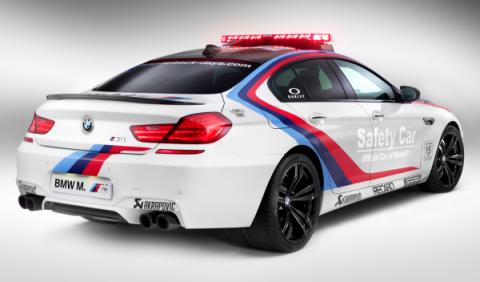 BMW moto GP trasera