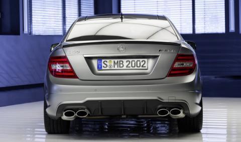 Mercedes C63 507AMG trasera