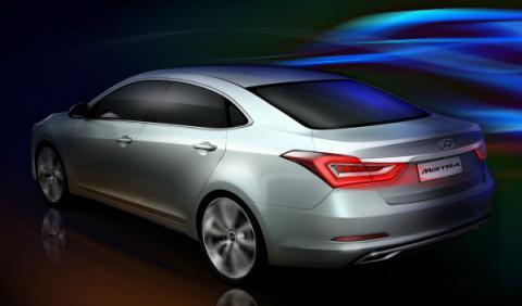 Hyundai Mistra concept trasera