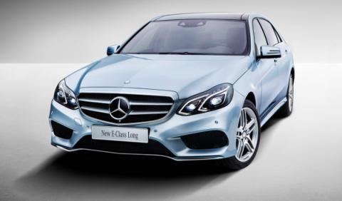 Mercedes Clase E Long frontal izqda