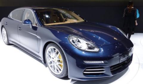 Porsche Panamera Salón de Shanghai 2013