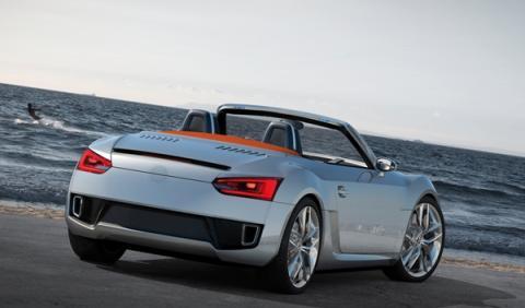 El Volkswagen BlueSport Concept de 2009