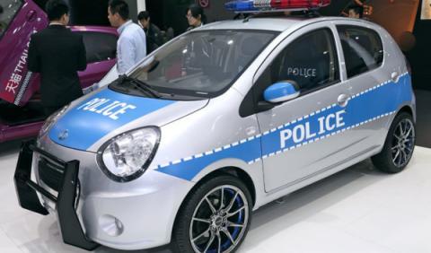 Geely coche de policía