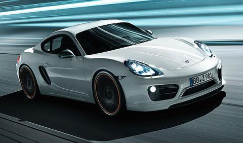 Porsche Cayman TechArt dinámica