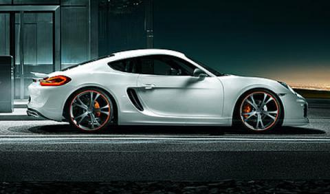 Porsche Cayman TechArt lateral