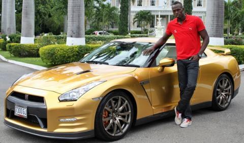 Nissan GT-R Spec Bolt de Usain Bolt
