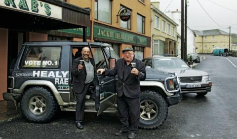 Beber y conducir en Irlanda.
