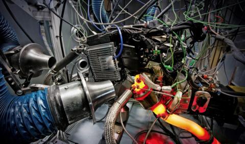 Colector motor