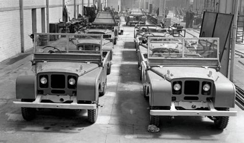Primer Land Rover