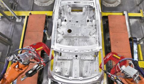 Fábrica Land Rover