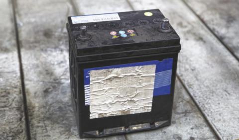 baterías desguace