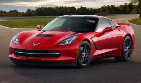Corvette Stingray en Transformer 4