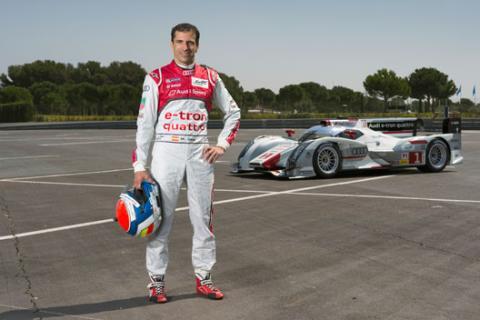 Marc Gene Audi Le Mans 2013