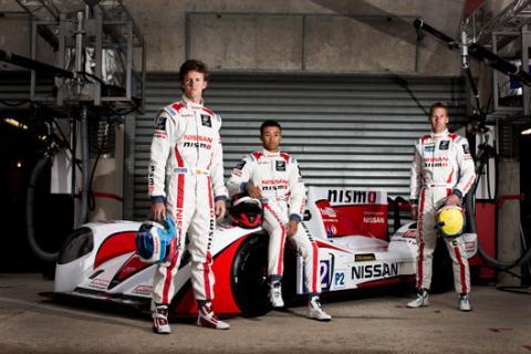 Lucas Ordoñez Nissan 24 horas Le Mans 2013