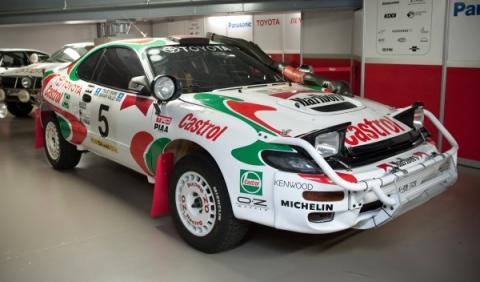 Toyota Celica Carlos Sainz Kankkunen