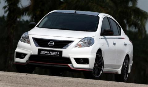 Nissan Almera Nismo Performance Package