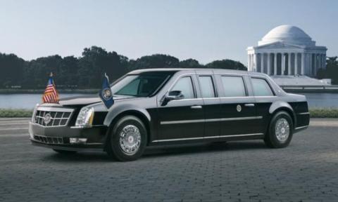 Cadillac DTS Barack Obama
