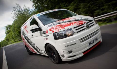 El Volkswagen T5 de Revo, récord en Nürburgring