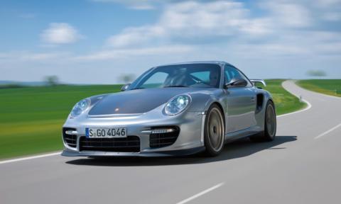 Porsche 911 GT2 delantera
