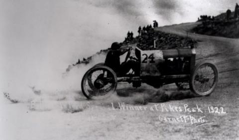noel bullock ganador pikes peak 1922