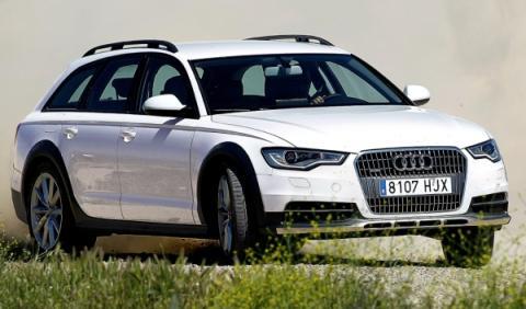 Audi A6 Allroad 3.0 TDI quattro S tronic, forntal