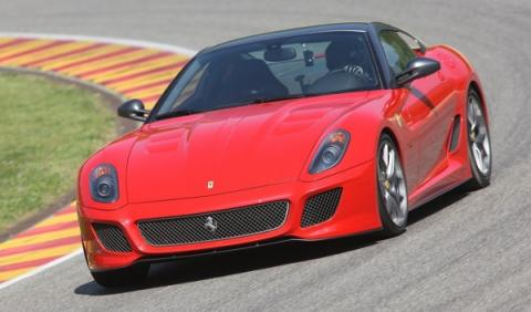 Brutal accidente de un Ferrari 599 GTO