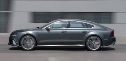 Prueba Audi RS 7