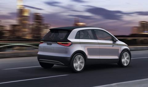 El Audi A2 concept de 2011: posible Audi A3 Spacer