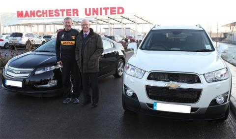 Chevrolet Captiva Alex Ferguson