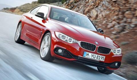 Nuevo BMW Serie 4 frontal dinámica