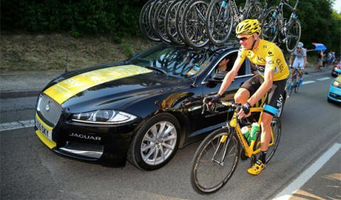 Jaguar XF - Tour de Francia 2013