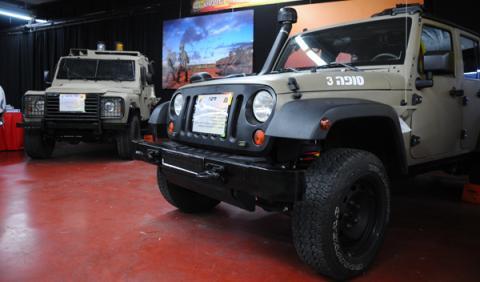 Vehículo basado en el Jeep Wrangler