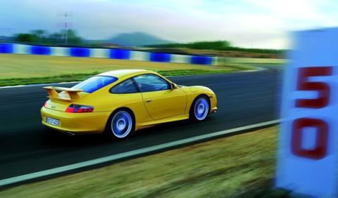 El nuevo Porsche 911 GT3 accidente Autobahn