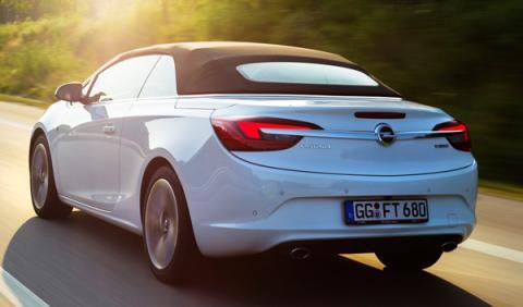 Opel Cabrio de 200 CV