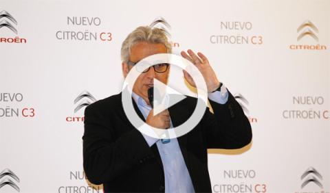 Unas risas con Leo Harlem en la presentación del Citroën C3