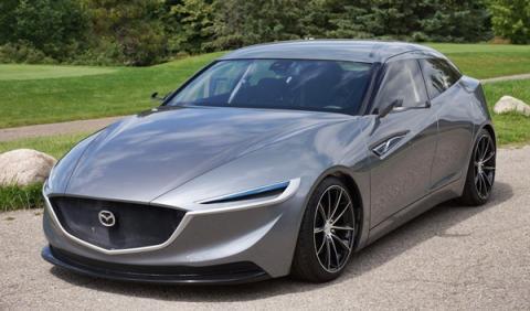 Delantera del Mazda Deep Orange 3 Concept