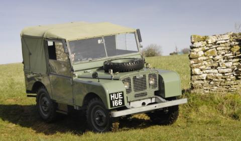 Land Rover Serie 1 Richard Hammond
